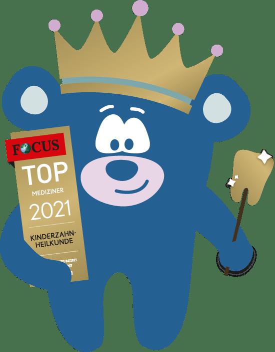 """""""Top Mediziner 2021"""" Zahnbär Dr. Nina Teubner"""